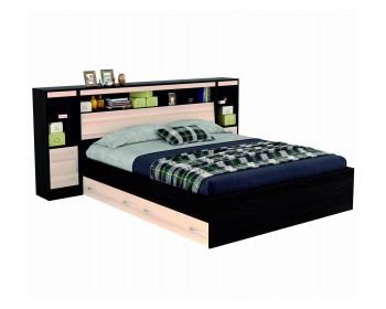 """Кровать Двуспальная """"Виктория"""" 1800 с блоком, ящиками"""
