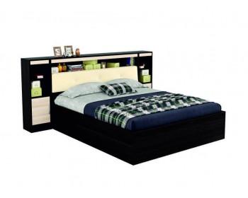 """2-спальная кровать """"Виктория ЭКО-П"""" 160 см. с мягким блоком"""