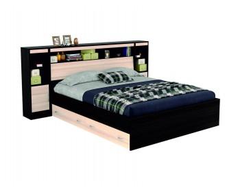 """Двуспальная кровать """"Виктория"""" 1600 с блоком, ящиками и"""