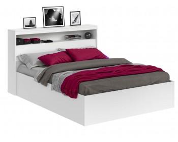 Кровать Виктория белая 180 с блоком