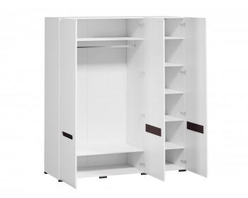 Распашной шкаф Ацтека Белый Блеск