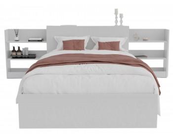 Кровать Доминика с блоком 120 (Белый) с матрасом ГОСТ
