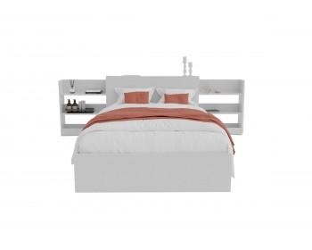 Кровать Доминика с блоком 120 (Белый) с матрасом PROMO B COCOS
