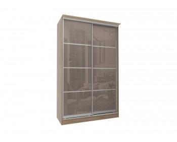 Шкаф-купе - 2-х дверный с зеркалами Байкал