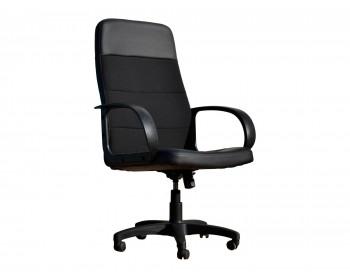 Кресло Офисное Office Lab standart-1581 Эко кожа черный / ткань