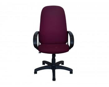 Кресло Офисное Office Lab standart-1331 Ткань рогожка бордовая