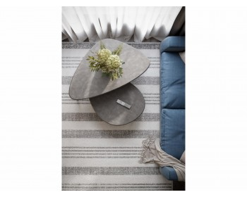 Стол журнальный Эланд серый бетон