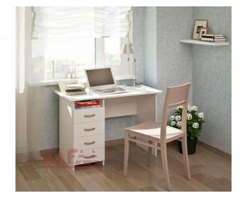 Стол письменный Милан (0120) белый
