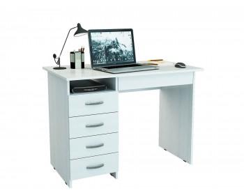 Стол письменный Милан-1 (0120) белый