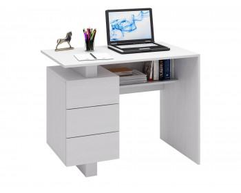 Стол компьютерный Ренцо-1 белый