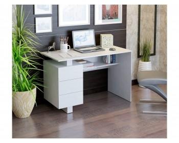 Стол компьютерный Ренцо-2 белый