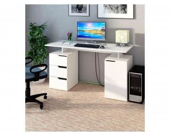 Стол компьютерный Нейт-3 белый