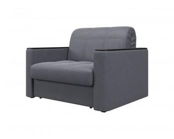 Кресло Неаполь Плюш Графит