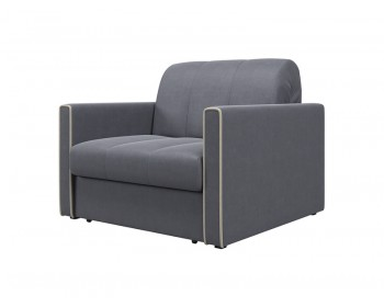 Кресло-кровать Римини Плюш Графит
