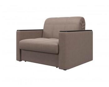 Кресло Неаполь Плюш Браун