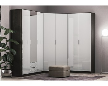 Шкаф угловой Глянец 3D-18