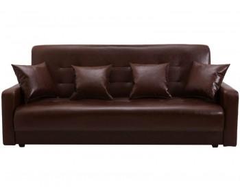 Кожаный диван Престиж Браун-140