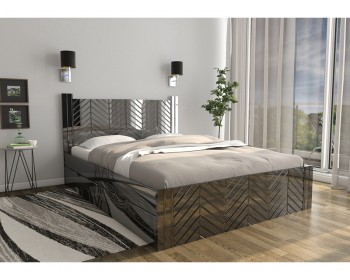 Кровать Глянец Премиум 38