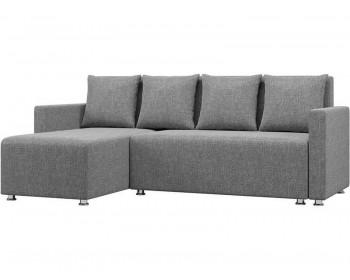 Тканевый диван Каир Грей с подлокотниками