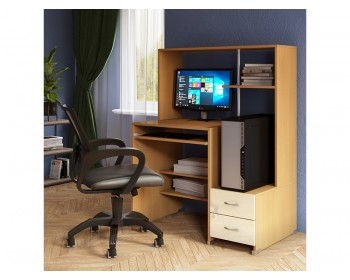 Компьютерный стол Мартин Глянец-4