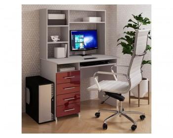 Компьютерный стол Милан Глянец-11