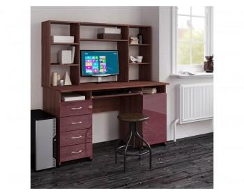 Компьютерный стол Милан Глянец-16