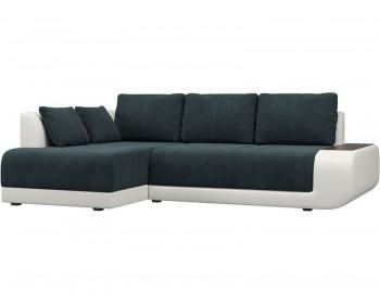 Кожаный диван Нью-Йорк Индиго