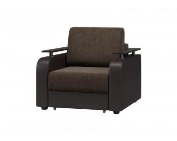 Классическое кресло Марракеш Плюш Шоколад Венге