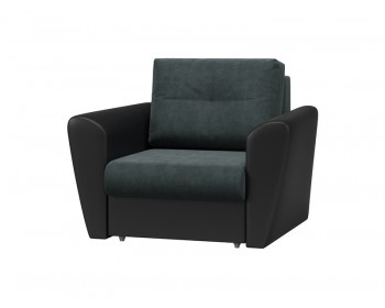 Классическое кресло Амстердам Плюш Графит Венге