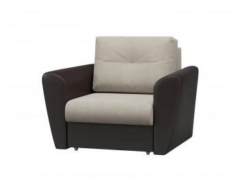 Кресло-кровать Амстердам Плюш Крем Венге