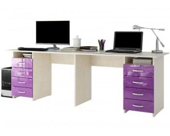 Компьютерный стол Тандем-3 Глянец 2-2