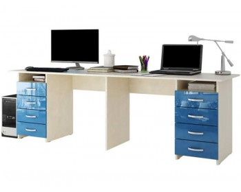 Письменный стол Тандем-3 Глянец 2-4