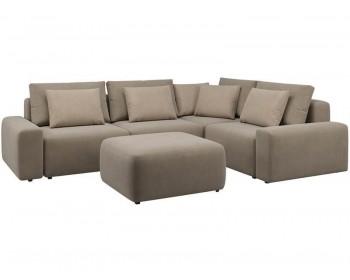 Модульный диван Гунер-1 Плюш Купер нераскладной