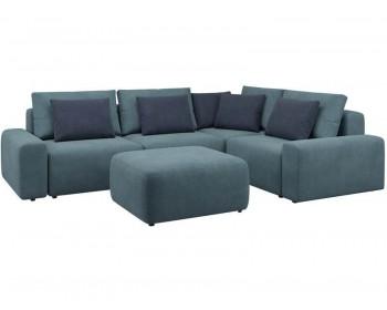 Модульный диван Гунер-1 Плюш Клауд нераскладной