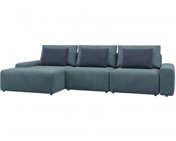 Модульный диван Гунер-2 Плюш Клауд нераскладной