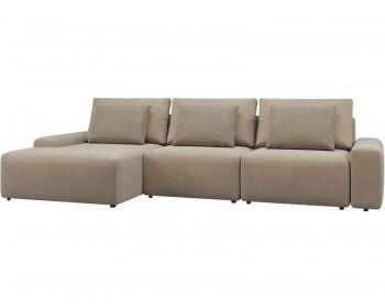 Модульный диван Гунер-2 Плюш Мокко нераскладной