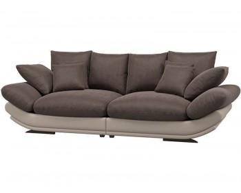 Кожаный диван Авиньон Плюш Кофе 1