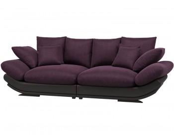 Кожаный диван Авиньон Плюш Перпл 1