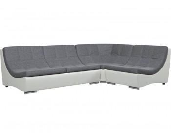 Кожаный диван Монреаль-2 Кантри Графит