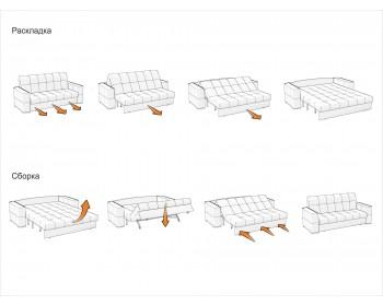 Модульный диван Сидней (мини) декор дуб каньон